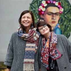 Justina Aleksaitė ir Rimantė Tamulytė